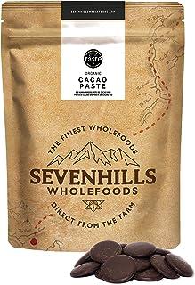 Sevenhills Wholefoods Pasta De Cacao (Licor, Masa) Orgánico, Obleas, 500g