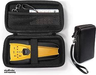 Stud Finder Case by CaseSack compatible with Zircon StudSensor 70, Pro35, HD35, Multiscanner x85 also for VEKEN 4 in 1 Multifunctional drtulz 3 in 1 Multi Scanning Wall Sensor (Black)