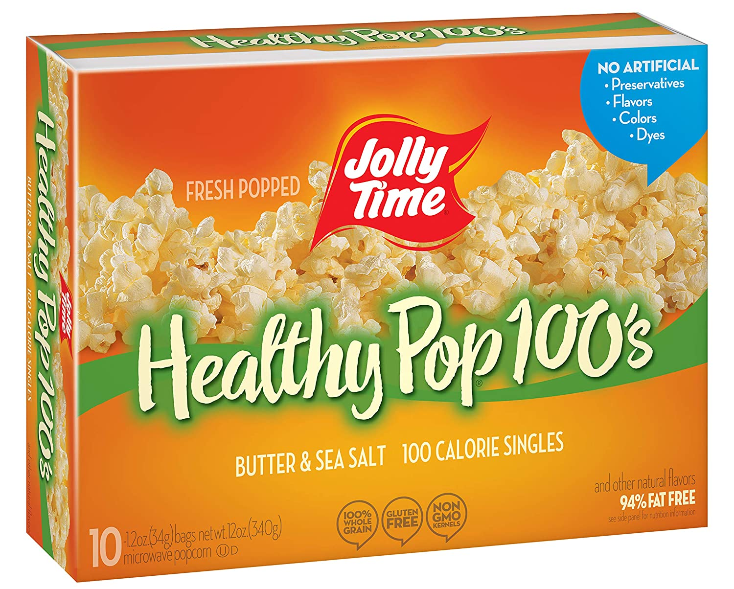 Jolly Time Healthy Pop Butter Minis 100 P Calorie Mini Beauty products Microwave Popular