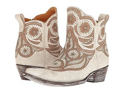 Old Gringo Valentine Dion (Crackled Taupe) Cowboy Boots