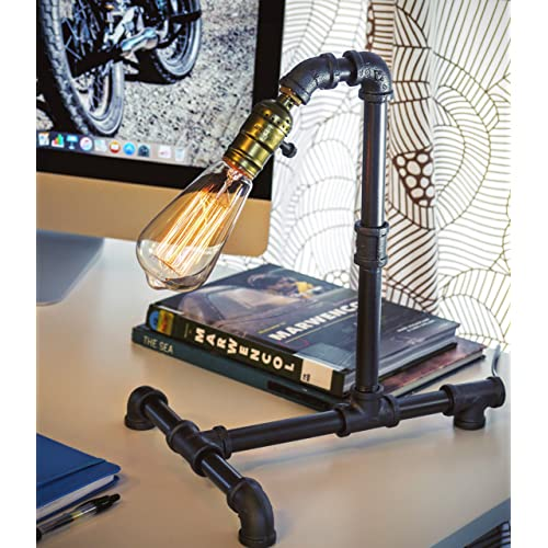 office desktop tabletop motorcycle metal pencil pen holder Collectible Steampunk