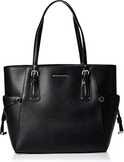 Michael Kors Women's Voyager Leather Tote Top-Handle Bag