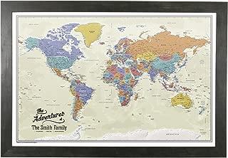 tan world map