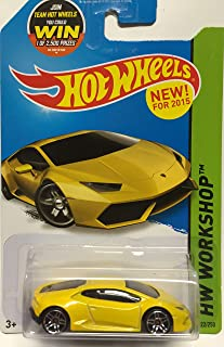 Hot Wheels 2015 HW Workshop Lamborghini Huracan LP 610-4 222/250, Yellow