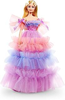 Barbie Birthday Wishes Doll (Blonde, 13-inch), Wearing...