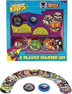 Pog Retro Kaps 2-Player Starter Set Game Includes: 30 Pogs & 2 Slammers