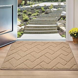 """Indoor Doormat, Front Back Door Mat Rubber Backing Non Slip Door Mats 20""""x31.5"""" Absorbent Resist Dirt Entrance Doormat Ins..."""