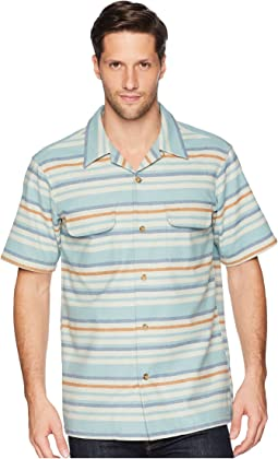 Short Sleeve Striped Board Shirt
