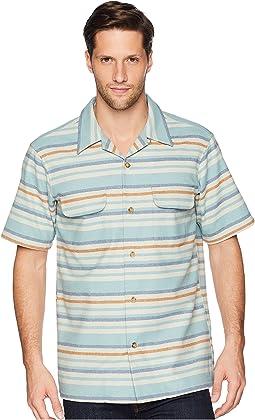 Short Sleeve Striped Board Shirt