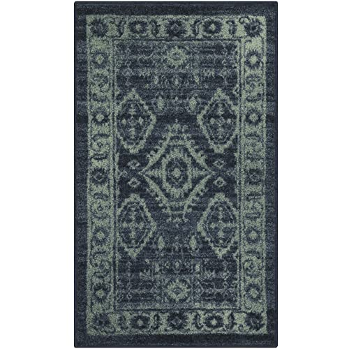 Blue Green Rugs Amazon Com