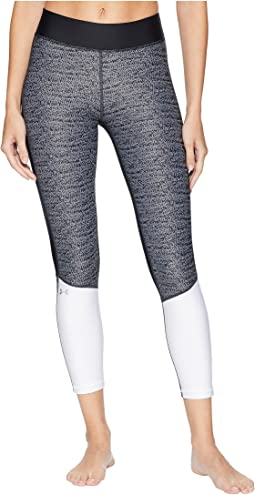 UA HeatGear® Armour Jacquard Ankle Crop