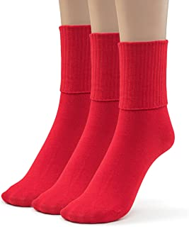 red bobby socks