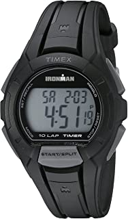 Timex Men's TW5K94000 Ironman Essential 10 Black Resin Strap Watch