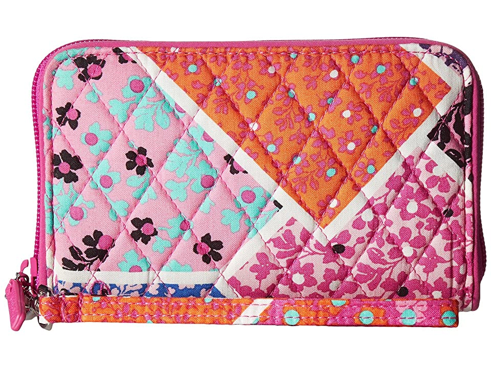 Vera Bradley RFID Grab Go Wristlet (Modern Medley) Wristlet Handbags