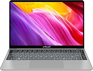 ノートパソコン,TECLAST F7Plus ノートPC 14.1 インチ FHDスクリ 8GB メモリー 256GB SSD ーン インテル Celeron N4100プロセッサーWindows10 2.5Dボーダー バックライト付きキーボード デュアルバ ドWiFi USB 3.0 バッテリー38Wh Bluetooth 4.0 ラップトップ