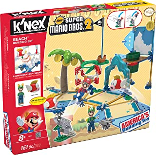 KNEX New Super Mario Bros 2 Beach Building Set #38624