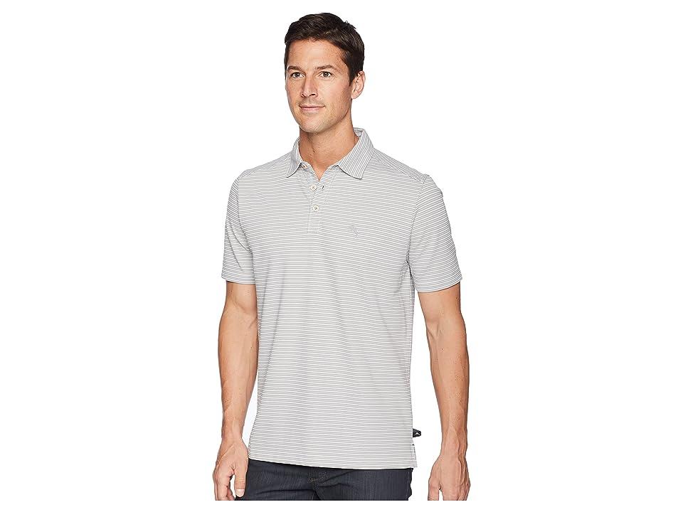 Tommy Bahama Marina Marlin Polo Shirt (Sleet) Men