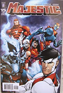 Majestic Wildstorm Comics # 15