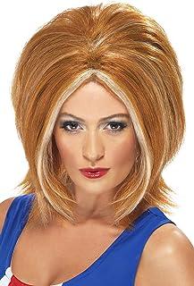 Smiffys Girl Power Wig - Ginger Blonde