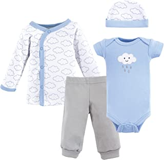 Unisex Baby Preemie Layette Set, 4-Piece
