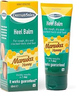 Dermatonics Heel Balm with Manuka Honey, Suitable for Diabetics, 60 ml