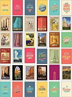 Best italy vintage travel posters 2019 wall calendar Reviews