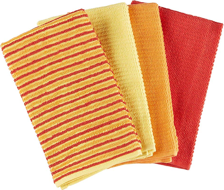 Fiesta Bar Mop Towel Set Of 4 Color Sunny Stripe