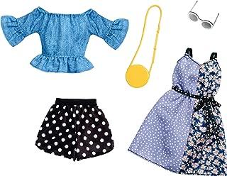 Barbie Fashion, Polka Dots,2 Count