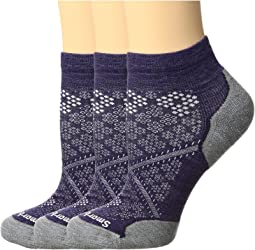 Smartwool - PhD Run Elite Low Cut Pattern 3-Pack