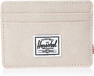 Herschel Unisex-Adult Charlie RFID Wallet, Polka Cameo Rose - 10360