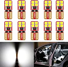 Phinlion Super Bright 2835 8-SMD LED Bulbs for Car...