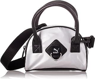 PUMA Time Mini Damen Grip-Tasche Silver OSFA