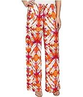 Calvin Klein - Printed Wide Leg Pants