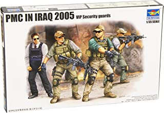 Trumpeter PMC VIP Protection Team in Iraq Figure Set (4-Pack), Scale 1/35