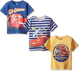 Boys' 3 Pack Cars T-Shirts