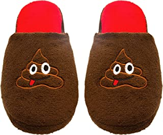 Ladies Terry Cloth Slip On Embroidered Novelty Bedroom Slippers (See More Styles and Sizes)