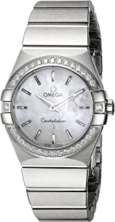 Women's 123.15.27.60.05.001 Constellation White Mother-Of-Pearl Dial Watch