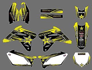 DST0589 Custom Motorcross Stickers Motorcycle Decals ATV Graphics Kit for suzuki RMZ450 2007