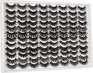 48 Pairs Eyelashes 3D Fluffy 18MM Long Fake Eyelashes Multipack Wholesale 12 Styles Dramatic Thick Faux Mink Lashes Bulk b...
