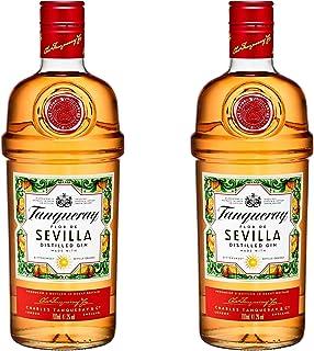 Tanqueray Flor de Sevilla, 2er, Destillierter Gin, Alkohol, Alkoholgetränk, Flasche, 41.3%, 700 ml, 753383