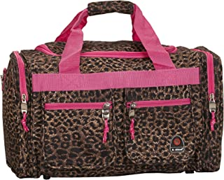 Luggage 19-Inch Tote Bag, Pink Leopard, One Size
