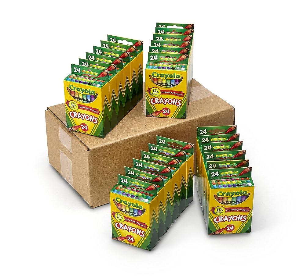 置くためにパック準拠ジャングル[クレヨラ]Crayola Crayons 52-4601 [並行輸入品]