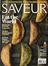 Saveur 2017 Magazine SEAWEED-CRUSTED LAMB FROM IRELAND Tripe & Truffles,Porchetta Sandwiches, Drunken Spaghetti, And Other Ways To Love Florence