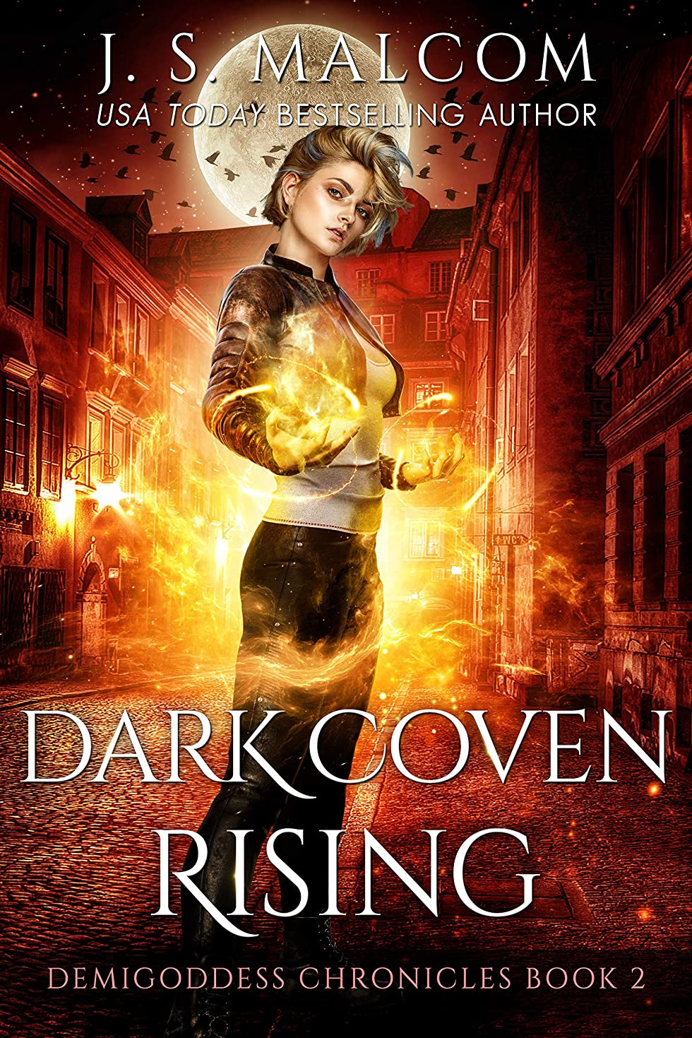 あそこフィドルクラッシュDark Coven Rising: Demigoddess Chronicles Book 2 (English Edition)