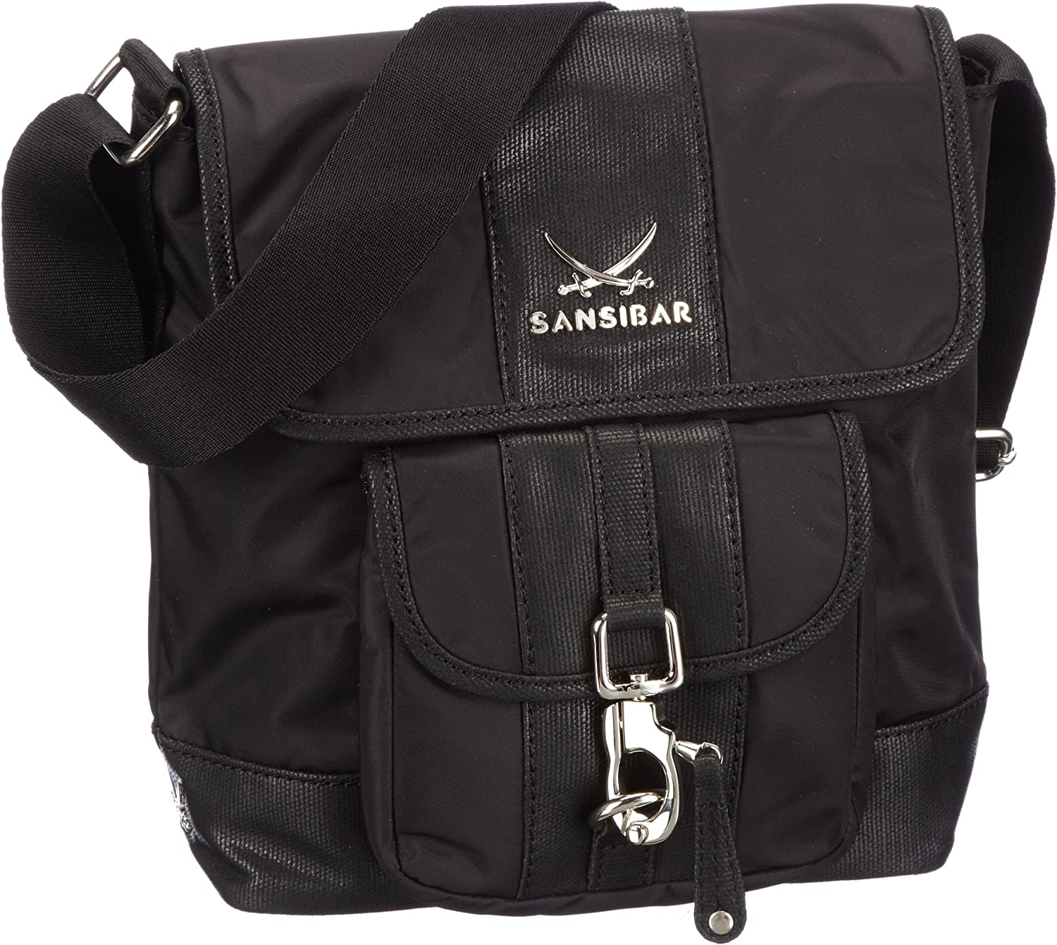 Sansibar Typhoon Shoulder Women black (black)