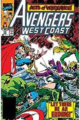Avengers West Coast (1985-1994) #55 Kindle Edition