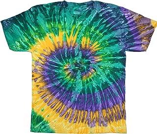 Tie-Dyes Men's Reactive-Dyed Flat Collar T-Shirt