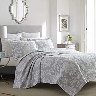 Laura Ashley Home | Venetia Collection | Luxury Premium Ultra Soft Quilt Coverlet,..