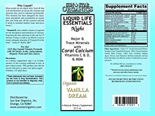 Sun Star Organics Liquid Life Essentials Night Formula (Vanilla)