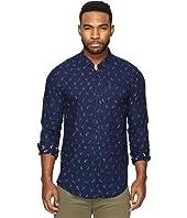 Scotch & Soda - Button Down Indigo Clean Shirt